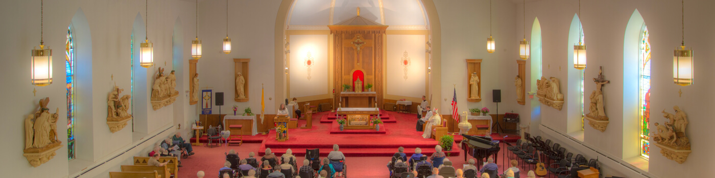 St. Anthony of Padua Chapel service