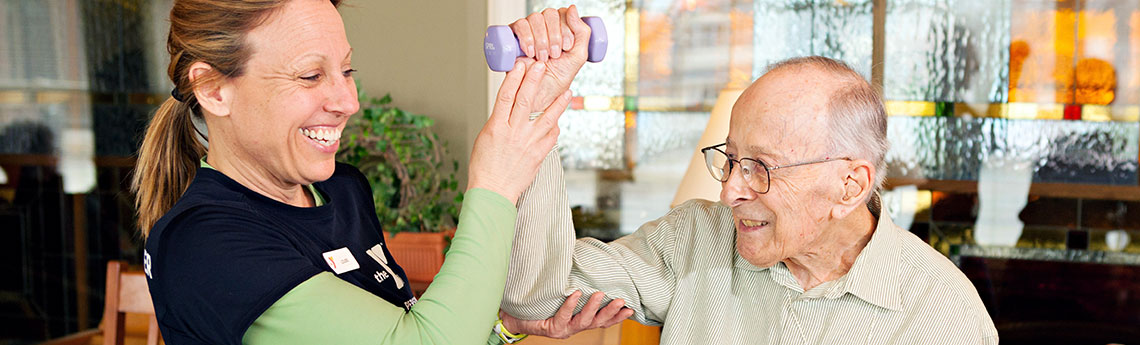 Therapies at Catholic Eldercare